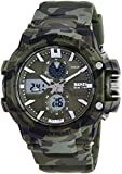 Skmei Analog-Digital Green Dial Men's Watch - 990-Camo
