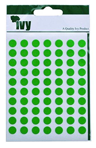ivy-232700-pois-verdi-adesivi-8-mm