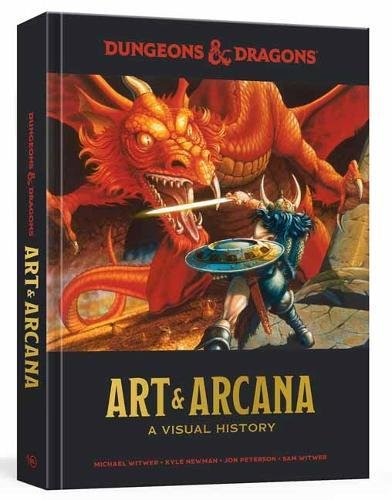 Dungeons and Dragons Art and Arcana: A Visual - Gaming Tabletop