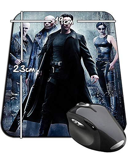 The Matrix Neo Trinity Morfeo Keanu Reeves Mauspad Mousepad PC (Neo Trinity Matrix)