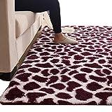 Alfombras Alfombra de polvo adsorbente para la sala de estar, alfombras de estilo nórdico para reducir el ruido, tapete para el piso lavable de fácil cuidado, tamaño opcional ( Tamaño : 1.2×2m )