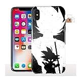 Coque iPhone X Goku Adulte, Coque de Telephone Apple Manga