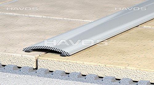 Übergangsprofil Ausgleichsprofil 60mm Alu eloxiert bronze selbstklebend C 02 -