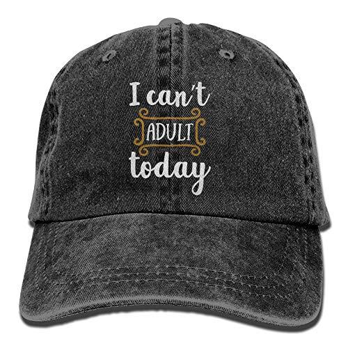 Kostüm Für Erwachsene Dirigent - sunyly Ich kann Heute Nicht erwachsen Werden Unisex Bestickter Cowboyhut Laufender Hut