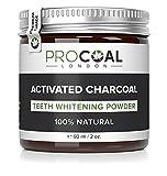 PROCOAL Activated Charcoal Teeth Whitening Powder 60ml (Premium Grade)