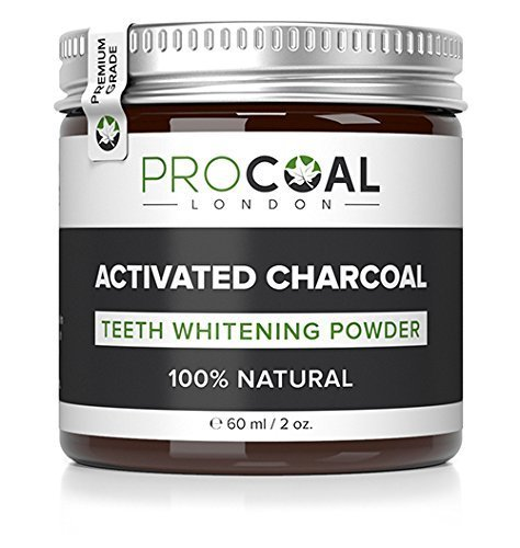 PROCOAL Activated Charcoal Teeth Whitening Powder 60ml (Premium Grade) Test