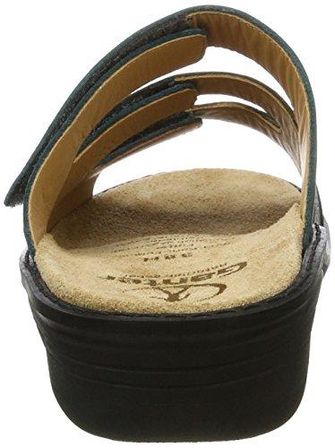Ganter Hera-h, Pantofole Donna Grün (Petrol/Smaragd)