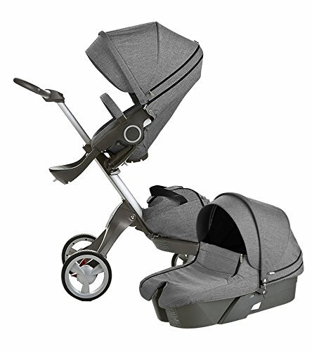 Stokke Xplory Newborn Stroller (Black Melange ) by Stokke   1