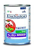 Exclusion Mediterraneo Adult Hund Forelle Alle Rassen, 24er Pack (24 x 400 g)
