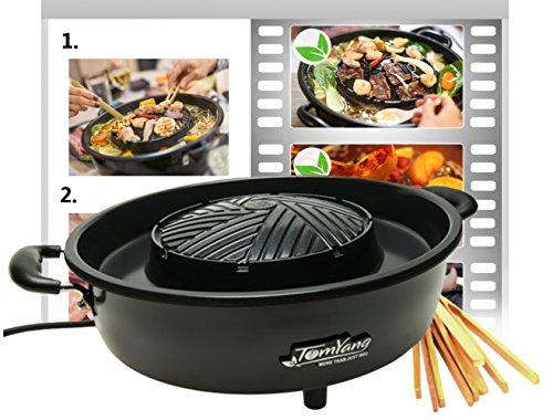 TomYang BBQ - elektrischer Thai Grill und Hot - Hot Pot