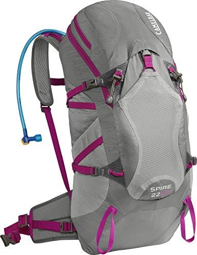 Camelbak Trinkrucksack Spire 22 LR INTL - Mochila, color multicolor (graphite/bright fuchsia), talla 57 x 28 x 20 cm, 18 l
