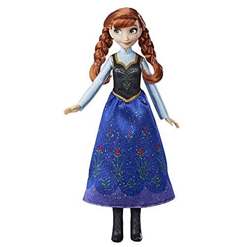 skönigin E0316ES2 Die Eiskönigin Anna, Puppe (Frozen Fever Kostüme)
