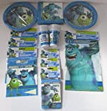 Monsters University komplett Party Pack für 16 Personen