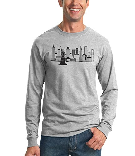 Billion Group | New York Skyline Black White Illustration | City Collection | Men