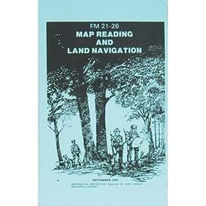 Carte lecture et Manuel de la navigation terrestre