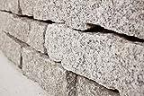 Granit Mauersteine gespalten, ca. 10 / 20 / 40 cm, 750 Kg im Big Bag