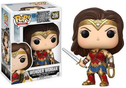 Funko Pop! - DC Wonder Woman Vinyl Figure, Justice League collection (13708)