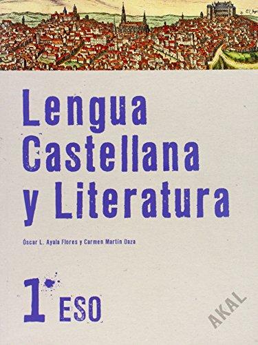 Lengua castellana y Literatura 1º ESO. Libro del alumno (Enseñanza secundaria) - 9788446023241