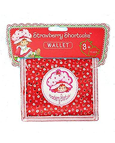 Small Wallet for Girls Strawberry Shortcake Pink Child Length 12 cm