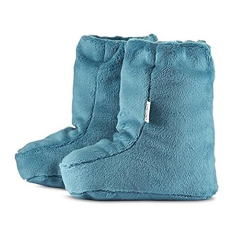 MayLily® Premium | SUPERCAT L Winter Krabbelschuhe Weiche & Warme für Super Baby Neugeborene kleine Kinder | 3-12 Monate | 100% Minky | Antiallergische Füllung | Made in EU | In vielen Farben M