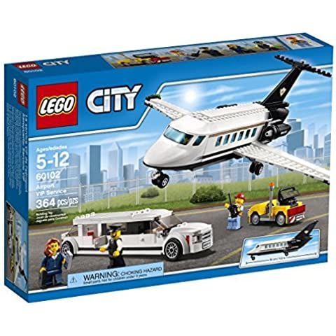 LEGO City Airport 60102 Airport VIP Service Building Kit (364 Piece) by LEGO