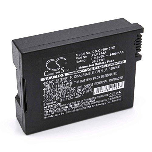 vhbw Li-Ion Akku 3400mAh (10.8V) für Mobile Router Modem Hotspots Wie Cisco 4033435 (Cisco Router Wifi)