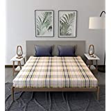 Trident Comfort Living 100% Cotton Double Bedsheet with 2 Pillow Covers Jack Blue
