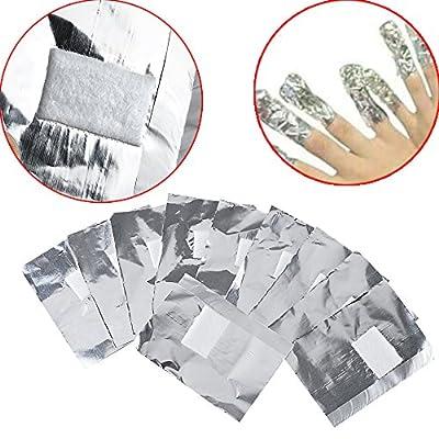 Vanyda 200 x Nail Art Soak Off Remover Gel Polish Acrylic Removal Foil Wraps