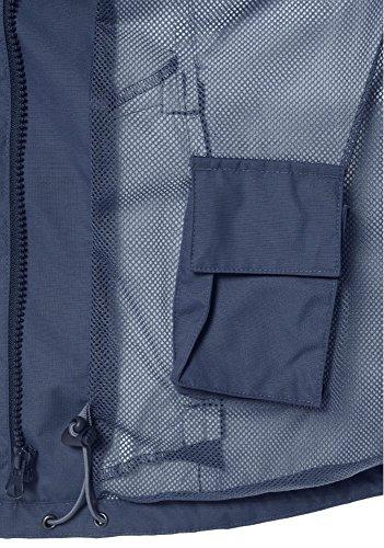KangaROOS Damen 2in1 Funktionsjacke Jacke Blau