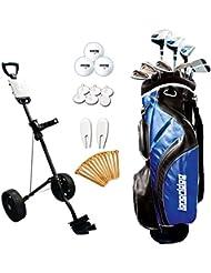 Longridge Vector Package x - Juego completo de palos de golf( trolley, híbrido, regular, para diestros ), talla 121 x 46 x 25.5 cm