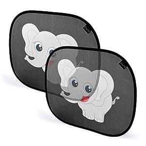 sonnenschutz auto baby kinder autosonnenschutz sonnenblende seitenfenster autoscheibe. Black Bedroom Furniture Sets. Home Design Ideas