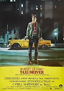 Taxi Driver Poster Borderless Vibrant Premium Glossy Movie Poster Various Sizes (A2 Size 23.4 x 16.5 Inch / 594 x 420 mm)