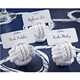 Nautical Cotton Rope Place Card Holders ...