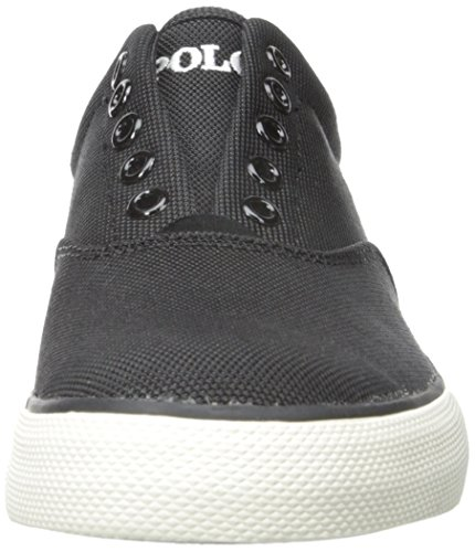 Polo Ralph Lauren Vito Pique Nylon Fashion Sneaker Black