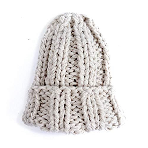 gorros de lana a dos agujas - Comprapedia ffc939b1d23