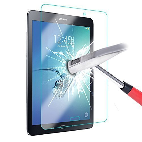 ELTD Samsung Galaxy Tab A 7.0 Displayschutz, Glas Folie Schutzfolie Glas Panzerfolie Displayschutzfolie für Samsung Galaxy Tab A 7.0 Klar Anti-Kratz Screen Protector Displayschutz - 9H Hardness aus