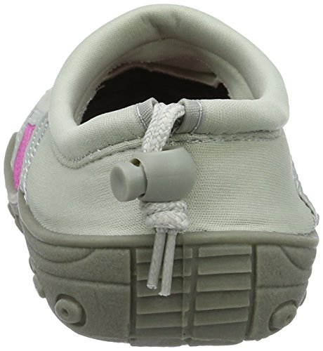Beco Chaussons Chaussures Plage Chaussures Aqua Surf chaussures Stand Up Paddle W chaussures pour homme et femme, marine, 38 gris/rose