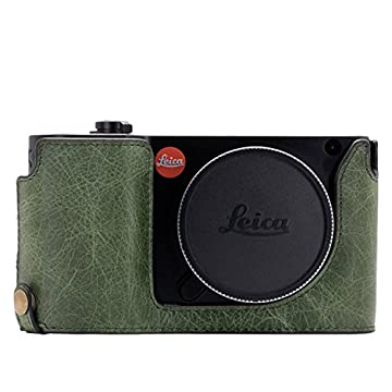MegaGear Ever Ready Genuine Leather Camera Half Case compatible with Leica TL2