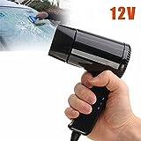 Espeedy Portable 12V chaude et froide de voyage de voiture de camping pliable sèche cheveux Window Dégivreur