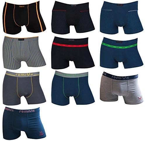 1211e42b69 10er Pack Remixx Boxershorts Retroshorts Kids Pants Gr. 128 - 170 Test.  Preisgünstigster. 6er Pack Jungen Unterhosen ...