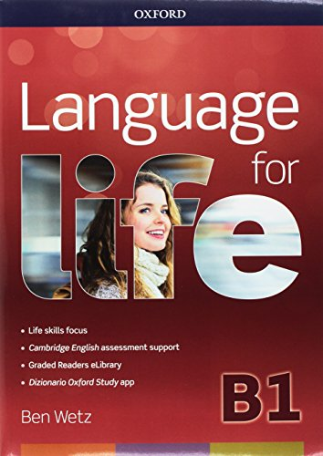 Language for life. B1 super premium. Langrev-Student's book-Workbook. Per le Scuole superiori. Con e-book. Con espansione online. Con CD-ROM