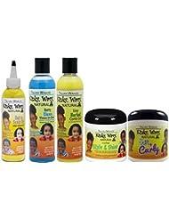 Taliah Waajid gamme complète of Kinky Mossi pour les enfants Soin des Cheveux produits (5produits complet mesures)