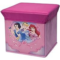 Preisvergleich für Delta Princess Faltbarer Sitzhocker (Rosa)