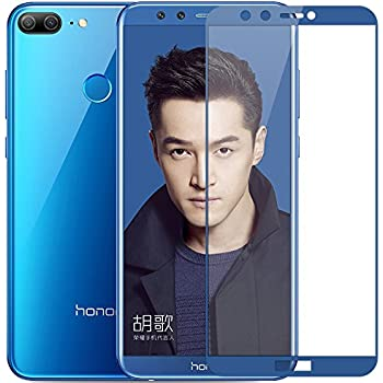 BestTalk 3D Ultra HD Amazing+ Full Screen Coverage Premium Tempered Glass For Honor 9 lite (Blue)