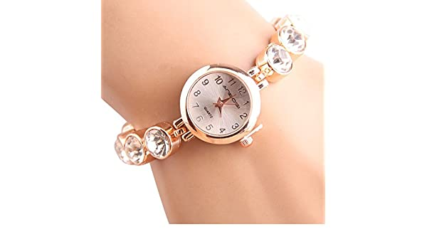 Sportuhr Damen Rosegold : Rosepoem mode frauen quarz analoguhr strass quarz armbanduhr art und