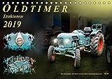 Oldtimer - TraktorenAT-Version (Tischkalender 2019 DIN A5 quer): Nostalgische Traktoren - geliebte Kraftpakete, die viele in ihren Bann ziehen (Monatskalender, 14 Seiten ) (CALVENDO Technologie)