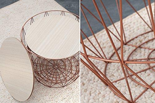 Die Beste Dunord Design Beistelltisch Korb Metall Rund 2er Set