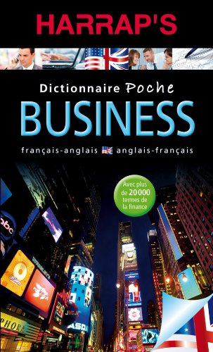 Dictionnaire Poche Business Francais-anglais par Rebecca Dubois