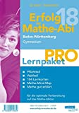 Erfolg im Mathe-Abi 2018 Lernpaket 'Pro' Baden-Württemberg Gymnasium: mit der Original Mathe-Mind-Map - Helmut Gruber