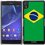 Funda para Sony Xperia Z2 - Bandera De Brasil by BruceStanfieldArtist
